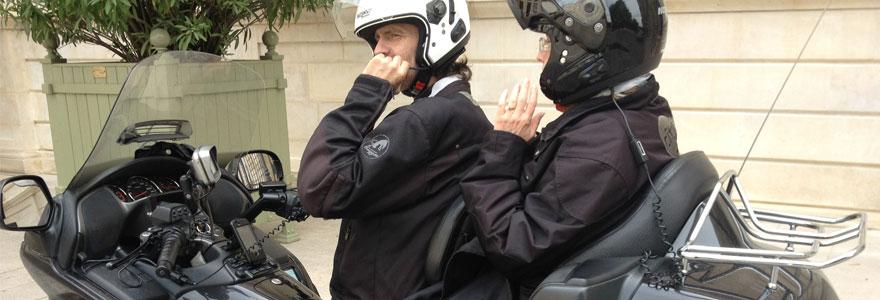année prometteuse moto taxi